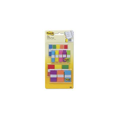 Post-it Flags Page Markers in Portable Dispenser, .5