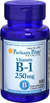 Puritan's Pride Vitamin B-1 250 mg-100 Tablets