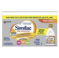 Similac Pro-Sensitive Ready-to-Feed Infant Formula with HMO (32 fl. oz, 8 pk.)