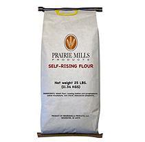 Prairie Mills Self Rising Flour - 25 lb. bag