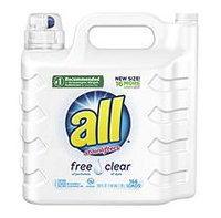 all 2X Ultra with Stainlifter Free & Clear (250 oz, 166 loads)