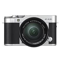 FUJIFILM X-A3 Mirrorless Camera Bundle with XC16-50mmF3.5-5.6 OIS II Lens - SILVER
