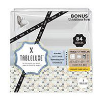 Tableluxe Tableuxe Square Plate Pack (84 ct. pack)