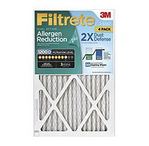 Filtrete™ Dual-Action Micro Allergen Plus 2X Dust Defense Filter, 25 x 25