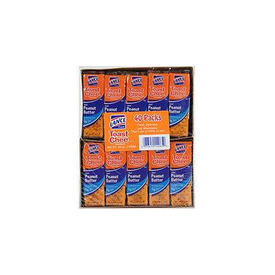 Lance Toast Chee Peanut Butter Crackers - 40 ct.