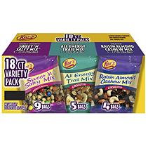 Kar's Nut & Fruit Mix Variety Pack - 18ct