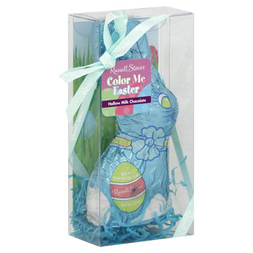 Russell Stover Milk Chocolate Hollow Rabbits, 3 Oz.
