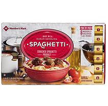 Member's Mark Daily Chef Spaghetti Pantry Pack (1 lb, 6 ct.)