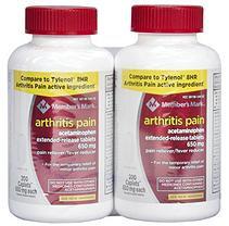 Member's Mark 650 mg Arthritis Pain Tablets (200 ct, 2 pk.)