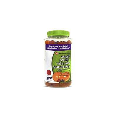 Member's Mark Adult Multi-Vitamin Gummies, 320 Count