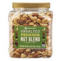 Member's Mark Unsalted Premium Nut Blend