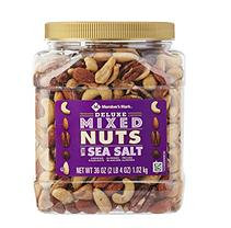 Member's Mark Deluxe Roasted Mixed Nuts with Sea Salt, 36 Oz