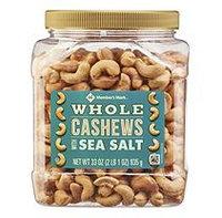 Member's Mark Roasted Whole Cashews with Sea Salt ( 33 oz.)