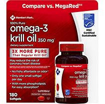 Member's Mark™ 350mg Krill Oil (180 ct.)