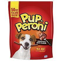 Pup-Peroni Dog Snacks Original Beef Flavor, 50 oz.