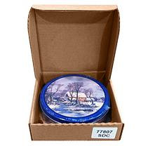 A L Schutzman Chocolate Covered Almonds Gift Tin - 20 oz.