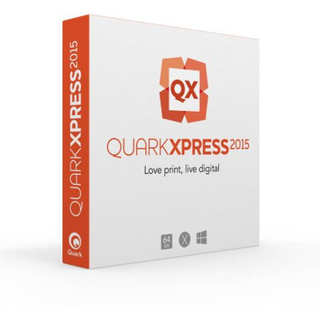 Quark 315255 QuarkXpress 2015, Single User, Upgrade (Email Delivery)