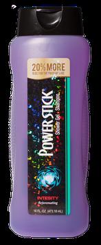 Power Stick Intensity Shower Gel 2-1 Shampoo 16 oz.