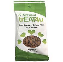 TrEAT4u Raw Almonds (1 oz, 24 pk.)