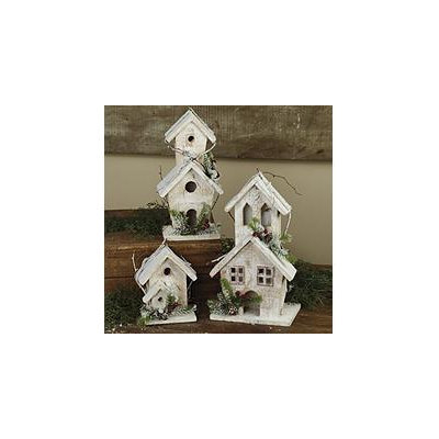 Rustic Birdhouse Set (3 ct.)