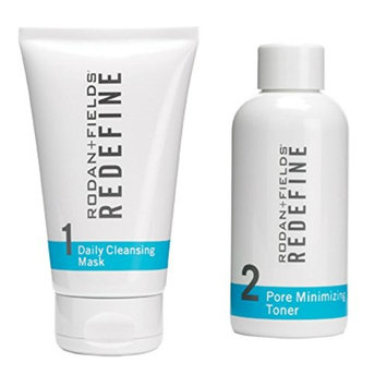 Rodan and Fields Daily Cleansing Mask and Pore Minimizing Toner Bundle