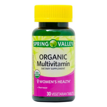 Lang Pharma Nutrition Spring Valley ORGANIC Women's Multivitamin 30ct