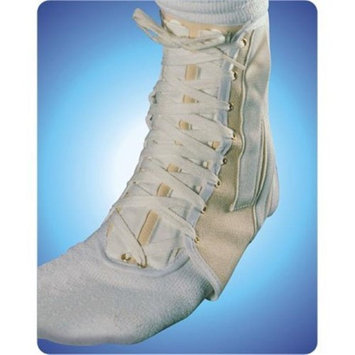 Living Health Products AZ-74-3151-XL Canvas Cock Up Ankle Splint Laceup Extra Large