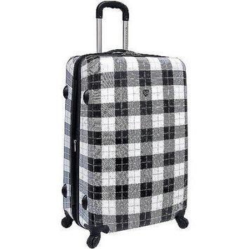 Travelers Club Luggage Travelers Club Fashionista Collection 2-Piece Hardside Spinner Luggage Set - Plaid