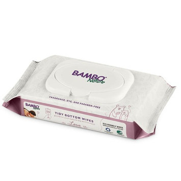Bambo Nature Tidy Bottoms Baby Wipes 1200 Sheets (24 Packs of 50)