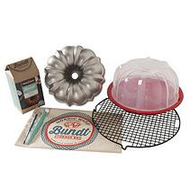 Nordic Ware Ultimate 8-Piece Bundt Baker's Kit (Vanilla)