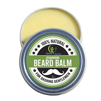 Beard Balm - Cedarwood. 100% natural ingredients to ensure our clients beard and moustache is well maintained and nourished