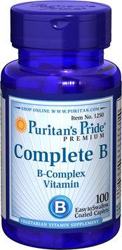 Puritan's Pride Complete B (Vitamin B Complex)-100 Caplets
