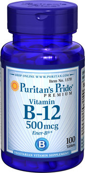 Puritan's Pride Vitamin B-12 500 mcg-100 Tablets