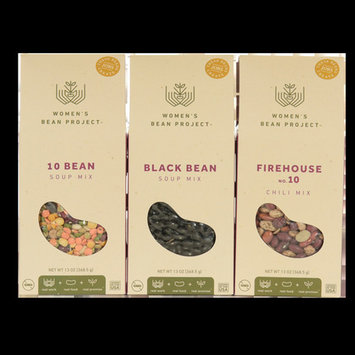 Women's Bean Project Gourmet Food Three Soup Gift Bundle, 3 items