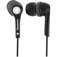 Panasonic RP-HJE200 Stereo Earphone - Stereo - Black