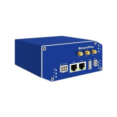 B+b Smartworx B+B SmartFlex SR305 Cellular Modem/Wireless Router - 4G - LTE - 2 x Network Port - USB - Fast Ethernet - VPN Supported - Rail-mountable, Desktop