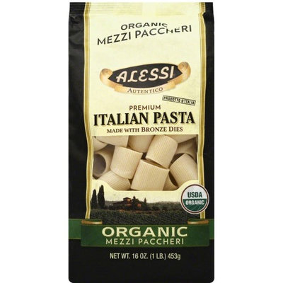 ALESSI 268444 16 oz. Organic Mezzi Paccheri Made With Bronze Dies