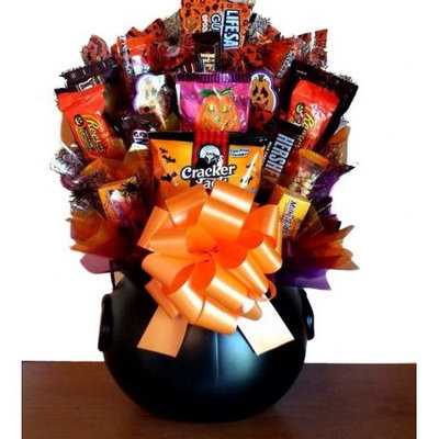Gordan Gifts Inc Halloween Delectable Sweet Treats Candy Bouquet Gift Basket