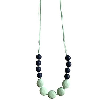 Little Teether Necklace for Baby Teething and Nursing - Provides Teething Pain Relief - 100% Silicone Tested & Safe