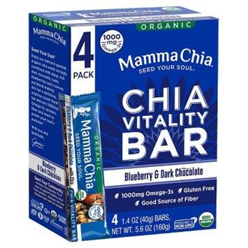 Mamma Chia Blueberry Granola Bars 4 ct