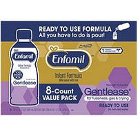 Enfamil Gentelease Ready-to-Use Formula (32 fl. oz, 8 ct.)