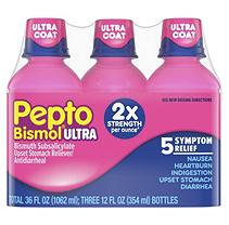 Pepto-bismol Pepto Bismol Ultra Strength, Original Flavor 36 oz-Triple Pack