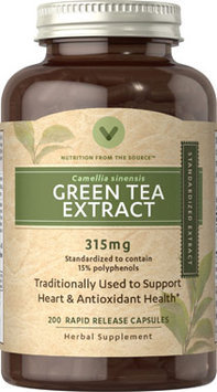 Vitamin World Green Tea Extract