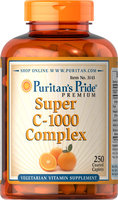 Puritan's Pride C-1000 Complex-250 Coated Caplets