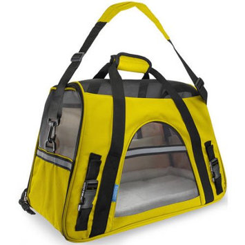 OxGord Small Comfort Carrier Soft-Sided Pet Carrier (2014 Model - Newly Designed), Yellow