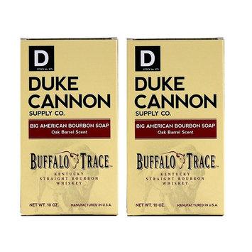 Duke Cannon Bourbon Soap - Buffalo Trace Kentucky Straight Bourbon Whiskey Bar Soap - Oak Barrel Scent, 10oz