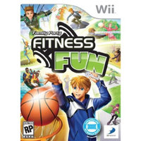 D3p Family Party: Fitness Fun - Nintendo Wii
