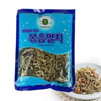 ROM AMERICA Korean Middle Size Dried Anchovies 226g [8 oz] Anchovy for Soup Stock, 볶음멸치