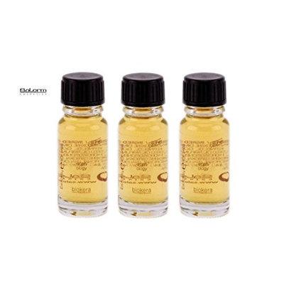 Salerm Biokera Arganology Argan Oil - 3 Vials x 0.34 oz