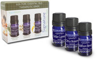 Spa Room Essential Oil Signature Blends Sensory Pack-3 Oils Each